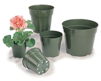 Discount Garden Supplies Plastic Flower Pots