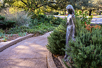 Fort Worth Botanic Gardens Rosemary Path