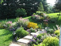 Backyard Flower Gardens